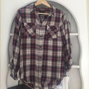 Jachs Tops - Paid button down shirt