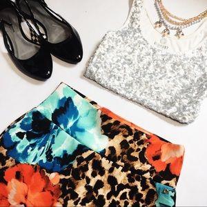 Thalia Sodi Dresses & Skirts - Thalia Sodi Floral Pencil Skirt
