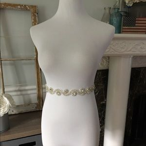 Accessories - Handmade beaded Bridal belt