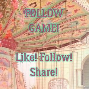 New Poshers to Follow! My First Follow Game!