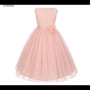 Other - Girsl Blush flower girl dress