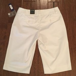 Apt. 9 Shorts - NWT   White Bermuda shorts by Apt 9.  Size 6