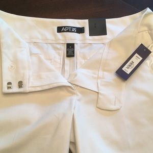 Apt. 9 Shorts - NWT   White Bermuda shorts by Apt 9.  Size 6