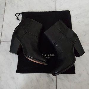 rag & bone Shoes - RAG & BONE Newbury Bootie Black Ankle Boot