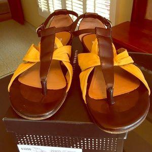 Fratelli Rossetti Shoes - FRATELLI ROSSETTI LEATHER SANDALS.