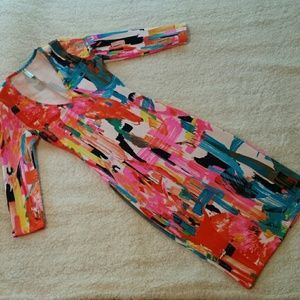 Auditions Dresses & Skirts - Auditions Midi Dress. 3/4 Length Sleeves. Sz Small