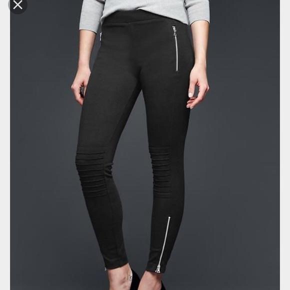 162bd11146 GAP Pants | Charcoal Moto Legging | Poshmark