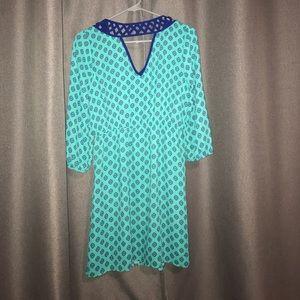 Skies are Blue Dresses - NEW Stitch Fix Tamara Lattice Detail Dress