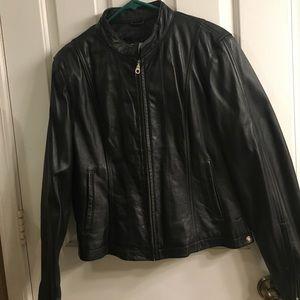 Black Wilson's Leather jacket