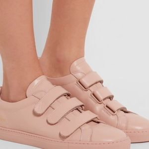 Common Projects Shoes - Woman by Common Projects Achilles leather sneakers