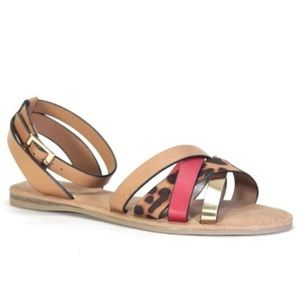 Shoes - Orgel Leopard Sandal