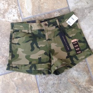 Celebrity Pink Pants - Super cute camo shorts