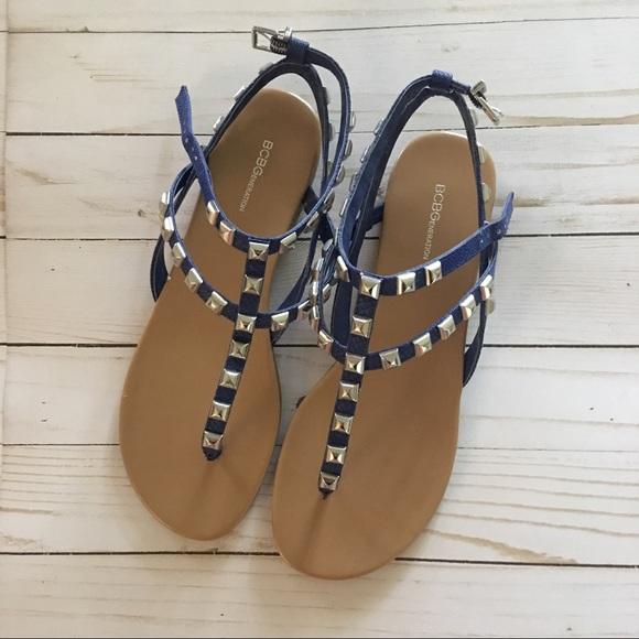 0dca7c7a3c4 BCBGeneration Shoes - NWOB BCBGeneration Glorina Flat Sandal - Blue