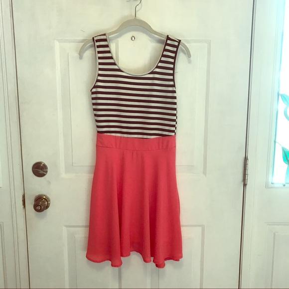 75 Off My Story Dresses Skirts Black White Stripe