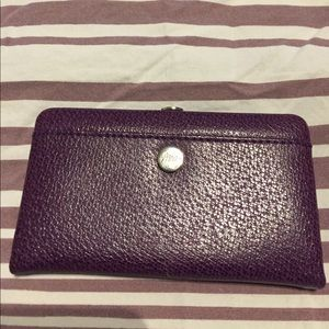 Abas Handbags - Abas card holder in Purple