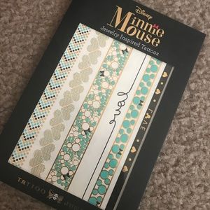 Minnie Mouse Flash/Metallic Tattoos