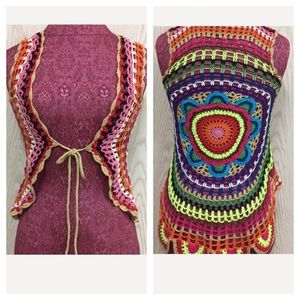 Sweaters - Crocheted Vest