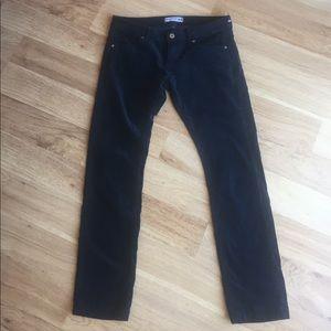 Uniqlo Denim - uniqlo ines de la fressange velour jeans pants
