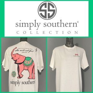 Simply Southern Tops - ‼️1-LEFT‼️Simply Southern Elephant and Verse Tees