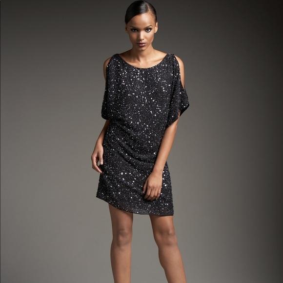 c97c33d9d7c Aidan Mattox Dresses   Nwot Cold Shoulder Sequin Shth Dress   Poshmark