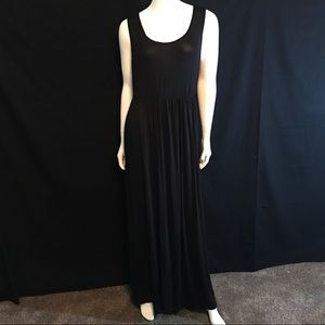 Rags and Couture Dresses & Skirts - 1211R R&C Tank Top Maxi Dress Black Cover Up New