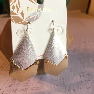 BRAND NEW!! Silver and gold earrings