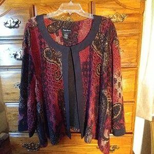 Catherines Tops - Catherines 5X Elegant Plus Size Dress Jacket