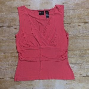 Axcess Tops - Pink Liz Claiborne Axcess thick strap tank top