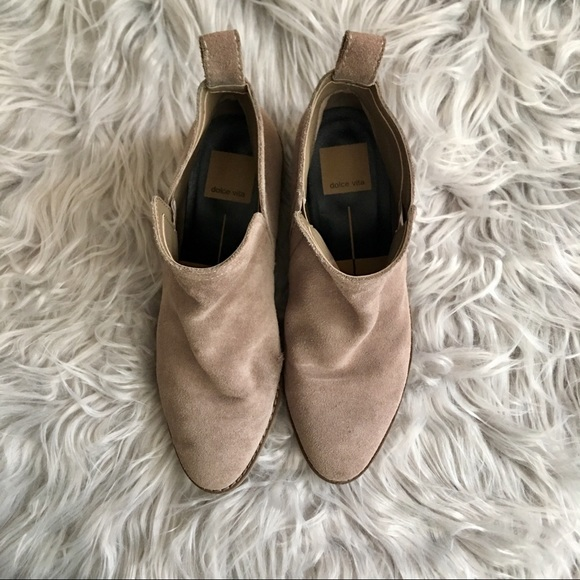 Dolce Vita Shoes - Dolce Vita 'Tessey' Suede Ankle Boots