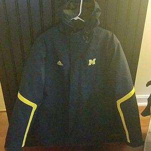 Other - Adidas University of Michigan Winter Jacket