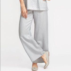 Pants - Flax linen grey pant size L