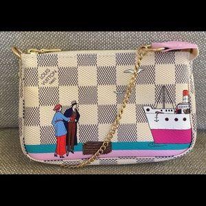 Louis Vuitton Handbags - Louis Vuitton Mini Pochette Damier Azur
