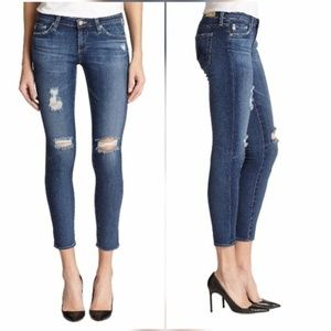 AG Adriano Goldschmied Denim - AG Legging Ankle Jeans in 11 Year Swapmeet