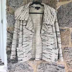 St. John Jackets & Blazers - St. John Collection Black/Off White Jacket