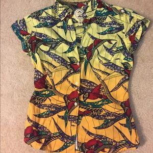 Ganesh Tops - NWOT Designer blouse by Ganesh, size 2