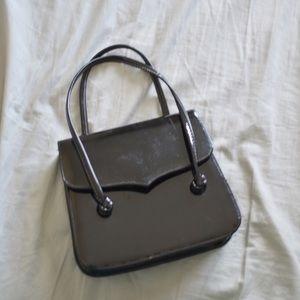 Handbags - Vintage Black Patent Purse