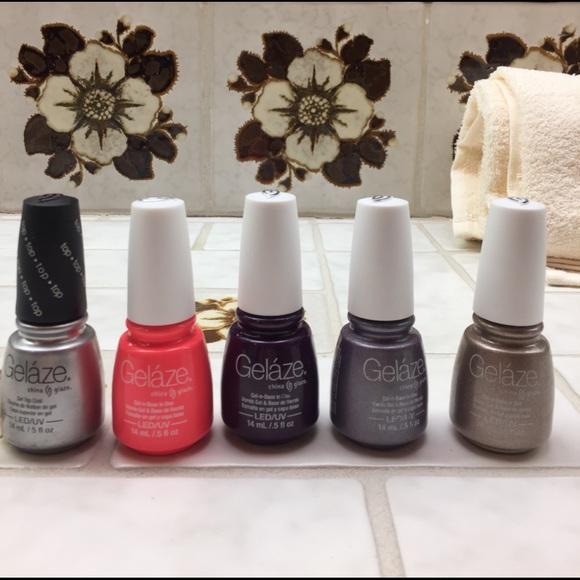 china glaze Makeup | Gelaze Gel Nail Polish | Poshmark