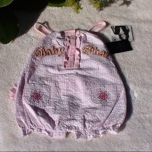 Baby Phat Other - NWT Baby Phat ruffle bottom romper