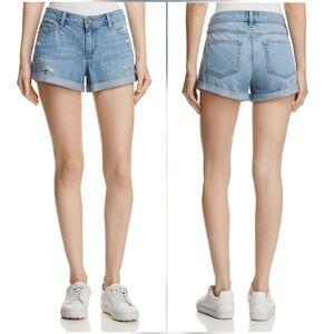 Paige Jeans Pants - Paige Jimmy Jimmy Shorts in Hans Destructed