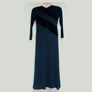 Liz Claiborne Dresses - Liz Claiborne Petite  Long Dress Black Size Small