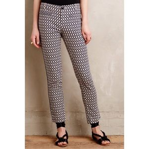 Cartonnier Cropped Trouser Anthropologie