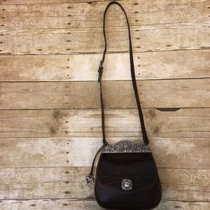 Brighton Handbags - Vintage Brighton cherub crossbody bag