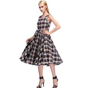 Acevog Dresses & Skirts - Retro Plaid Dress