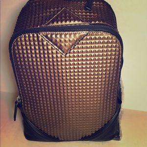 MCM Handbags - NEW MCM Bronze Duke Tantris Backpack Size Small