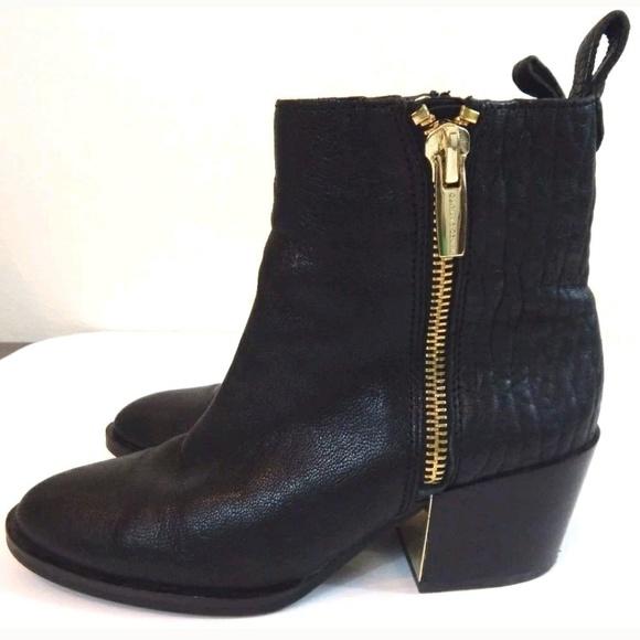 894c7d787608e Vince Camuto Imala Black Leather Booties. M_593c9ca17f0a05d766020852