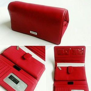Red Pelle Studio Wilson's Leather Snap Zip Wallet