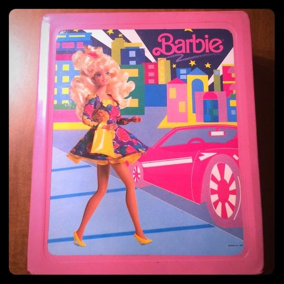 Barbie Accessories 80s Retro Travel Case Makeup Bag