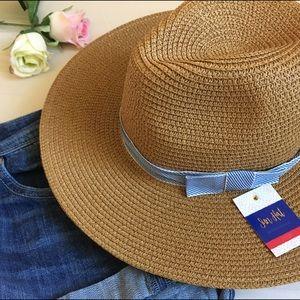 Accessories - 🇺🇸JULY 4 SALE🇺🇸NWT Summer Beach Hat Wide Brim