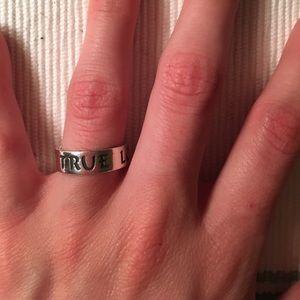 James Avery Jewelry - True love waits James Avery purity ring