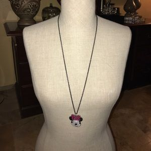 Jewelry - Minnie embellished face/chain